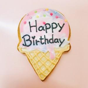 Happy Birthday ☆アイス