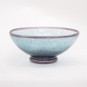紫とグリーンの鉢【広沢葉子】
