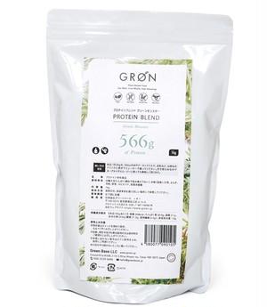 国産プロテイン★【GRON】50日分1kg グリーンモンスター/レッドヒート