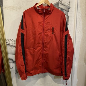 NIKE nylon zip up jacket