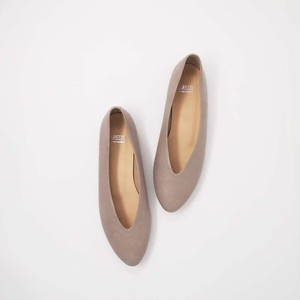 V-cut Soft Flat Shoes_LO12