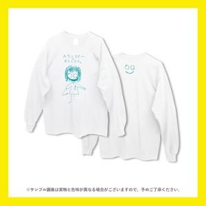 【受注販売】メランコリーツアー ロンT(ホワイト)