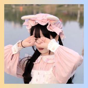 【お取り寄せ】ロリィタ 赤ちゃんラビットハット 2色