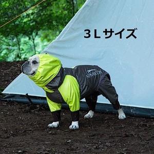 アルファアイコン(ALPHAICON)レインドッグガード 3Lサイズ 犬用レインコート