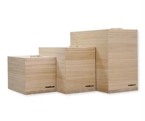 岩谷堂タンス製作所 Iwayado craft 米びつ 3kg 木地仕上げ