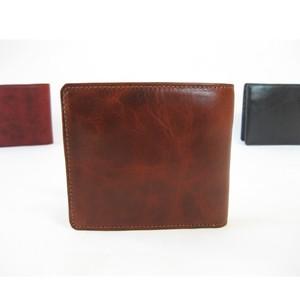 """""""BASIC""""アートウォレット<BROWN> 二つ折り財布"""