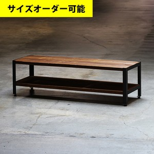 IRON FRAME LOW SHELF 140CM[ASHIBA DARK]サイズオーダー可