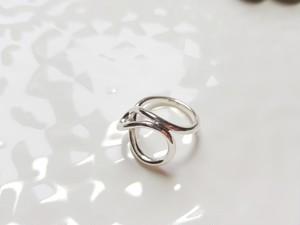 silver925 韓国 アクセサリー シルバー925 リング S925 指輪 ねじれ ツイスト 韓国ファッション オルチャン シルバーリング acc0030