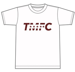 TMFC 5star Tシャツ キッズ ホワイト×ディープレッド  150サイズ