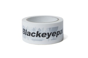 BLACK EYE PATCH / HANDLE WITH CARE TAPE