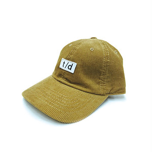 THURSDAY - t/d CORDUROY CAP (Tan)