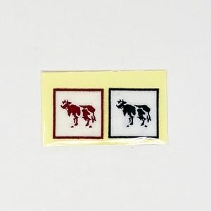 COWBOOKS COW Wappen(2枚1組)