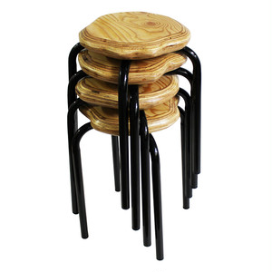 Bark Furniture Stool / 4set