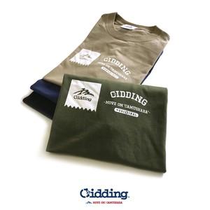 "Gidding13™ : ""GGG"" LOGO Print T-shirt / Tシャツ"