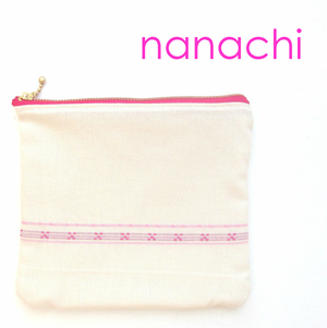 手織布で作ったオリジナルポーチ♪   かわいい沖縄の雑貨【送料無料】