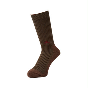 WHIMSY - 42/1 EMJAY SOCKS (Olive Brown)
