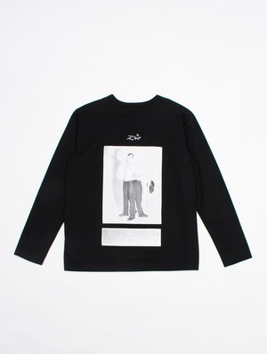 th PRINT LONG SLEEVE T-SHIRT