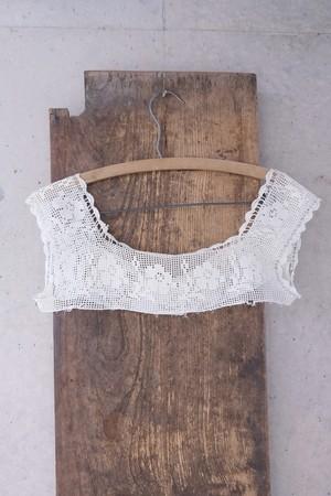 vintage/hana saku lace vest.