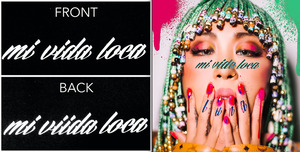 "NEW!数量限定!""LUNA × ViiDA"" 限定コラボTシャツ付CD「Mi Vida Loca」"