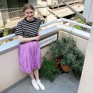 (SALE&送料無料) PUFF Skirt  (PURPLE)
