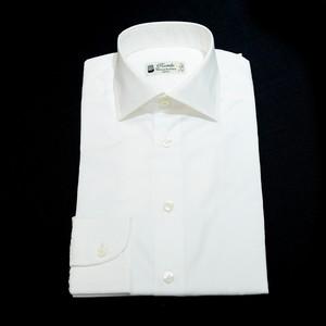 Camiceria Piccirillo コットン L/S ドレスシャツ 37 - ツイル白