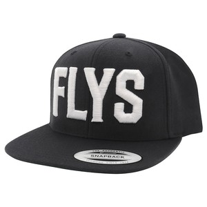 BlackFlys【FLYS SNAP BACK CAP】BLACK