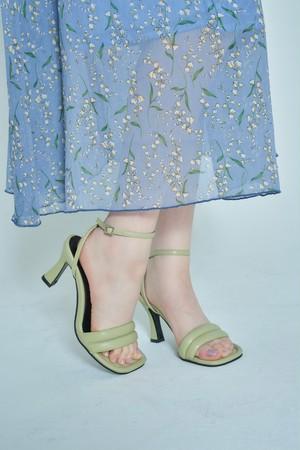 Lime Cream Sandals