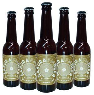 さくらFMビール GOLD 3本 + さくら咲いたー 3本 特別セット