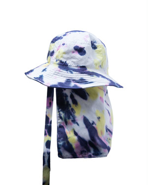 TieDye Bucket Hat / YELLOW