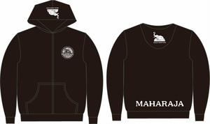【数量限定】MAHARAJA ジップアップパーカ