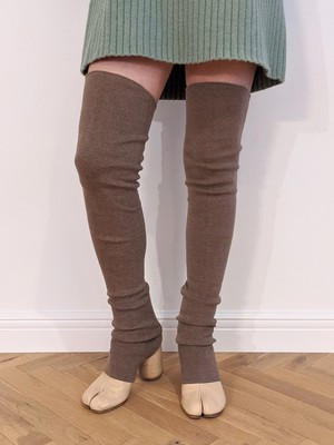 Long Leg Warmers - Brown