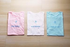 ブルーハワイのかき氷Tシャツ