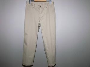 ベージュ綿パンツ