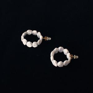 """pierce / """"hoop - silver"""""""