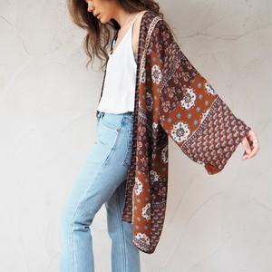Chiffon Kimono Cardigan E《BRN》18383085-e