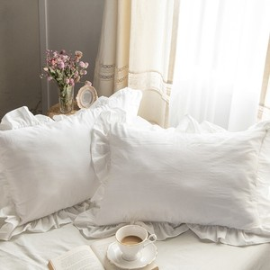 french frill pillow cover S/Q / フリルピローケース