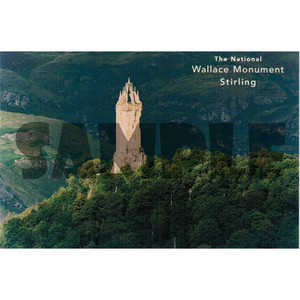 スコットランド風景ポストカード【ウォレス・モニュメント】Colin Baxter 90121-S373