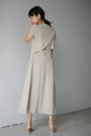 ROOM211 / Linen Dress (beige)