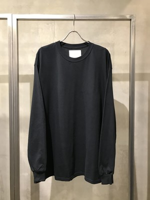 TrAnsference loose fit long sleeve T-shirt - black