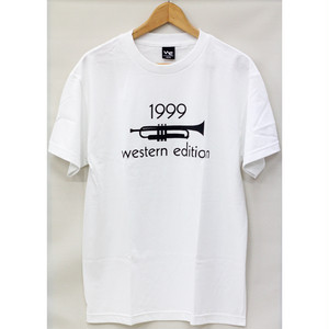 【WESTERN EDITION】WE 1999 S/S TEE WHITE