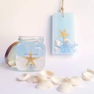 【夏限定福袋!!】ジェルアロマキャンドルとアロマワックスサシェのセット~香り:プルメリア~