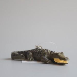 "Animal Keyring ""Crocodile"" アニマルキーリング ""クロコダイル"""