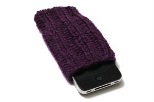 Plum Purple Knit