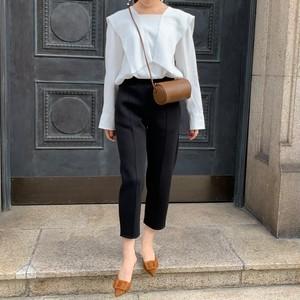【予約】bonding pants / black (ご注文から2~3週間での配送)