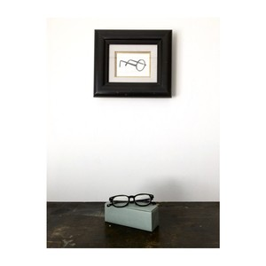 ミニマル 眼鏡ケース シンプル 箱型
