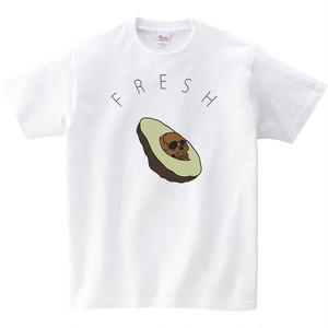 [キッズTシャツ] Creepy avocado
