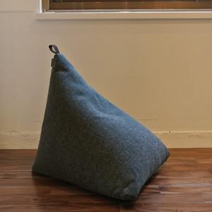 sail bag S ビーズクッション- grey ※中袋なし