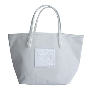 muta MARINE/MMロゴ/トートバッグ/ホワイト