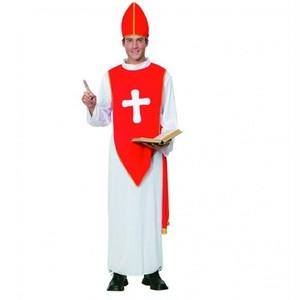 コスプレ 神父 牧師 聖職者 キリスト イエス 教皇 マリア 聖母 大人用 男性用 メンズサイズ 宣教師 ハロウィン クリスマス メンズ レディース 衣装 仮装 コスチューム k9030