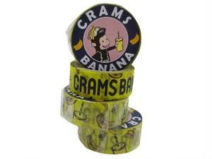 CRAMSBANANA マスキングテープ クラムスバナナ